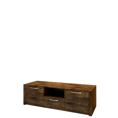 Fulford 57.7? TV Stand Color: Dark Oak Color