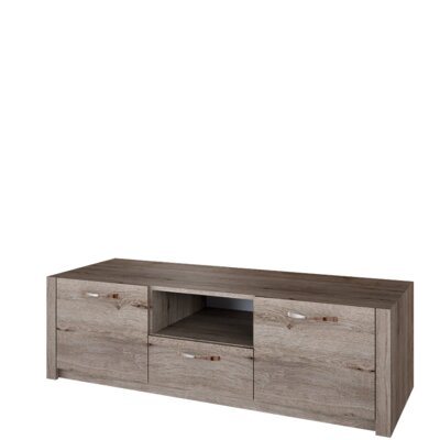 Fulford 57.7? TV Stand Color: Natural Oak Color