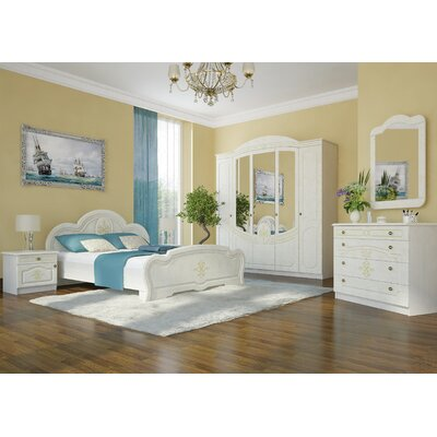 Melinda 1 Drawer Nightstand Color: Birch