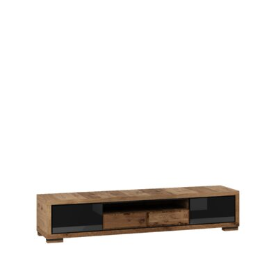 Ardent 79 TV Stand Color: Black