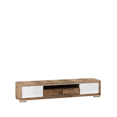 Ardent 79 TV Stand Color: White