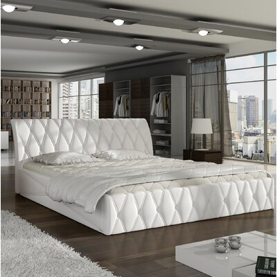 Montano Upholstered Storage Panel Bed Size: Queen