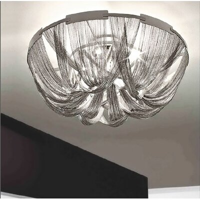 Clarabelle 6-Light Flush Mount