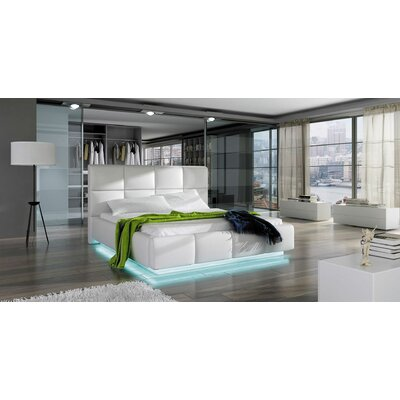 Boronda Modern Upholstered Storage Platform Bed Size: King