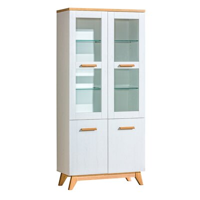 Chiang 4 Door Display Cabinet