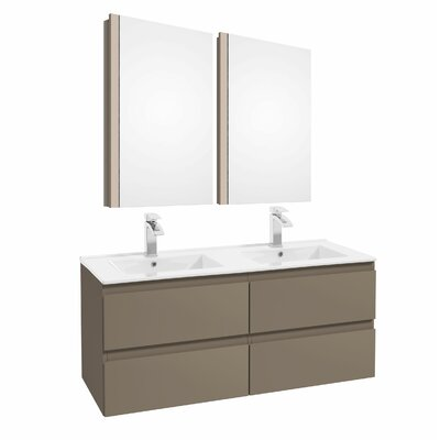 Middlebrook 47 Double Bathroom Set Color: Cappucino