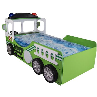 Henegar Toddler Fire Truck Bed