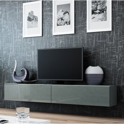Birte 70.9 TV Stand Color: Gray