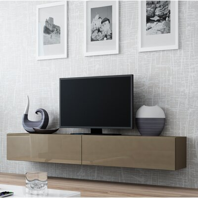 Birte 70.9 TV Stand Color: Latte
