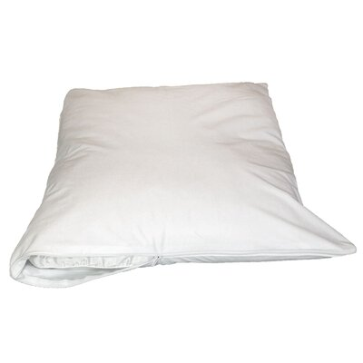 Viscose Rayon from Bamboo Jersey Pillow Protector Size: King