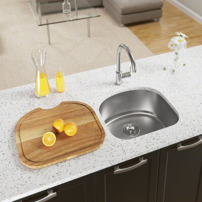 Stainless Steel 20 x 18 Undermount Kitchen Sink With Additional Accessories