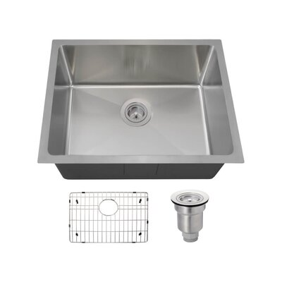 Stainless Steel 18 x 23 Undermount Kitchen Sink With Additional Accessories