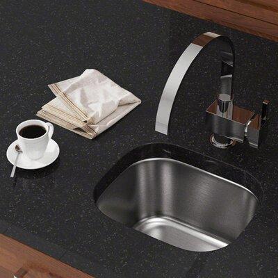 Stainless Steel 15 x 13 Undermount Bar Sink