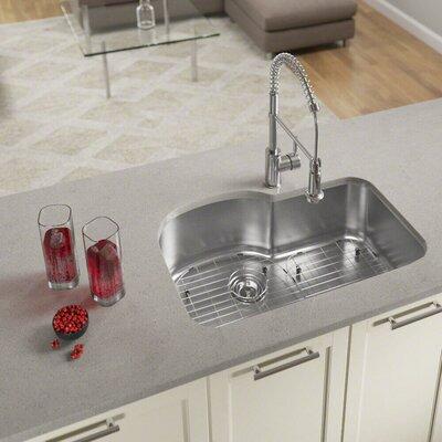 Stainless Steel 31 x 21 Undermount Kitchen Sink With Additional Accessories