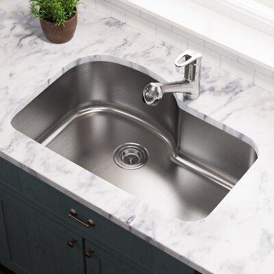 Stainless Steel 31 x 21 Undermount Kitchen Sink