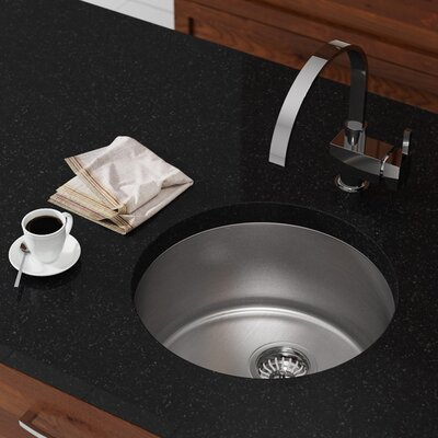 Stainless Steel 18 x 18 Dualmount Bar Sink