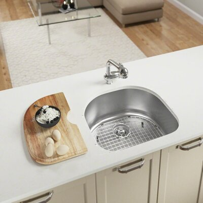 Stainless Steel 24 x 21 Undermount Kitchen Sink With Additional Accessories