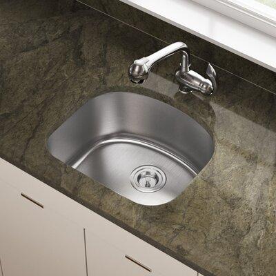 Stainless Steel 20 x 18 Undermount Kitchen Sink