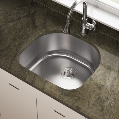 Stainless Steel 24 x 21 Undermount Kitchen Sink