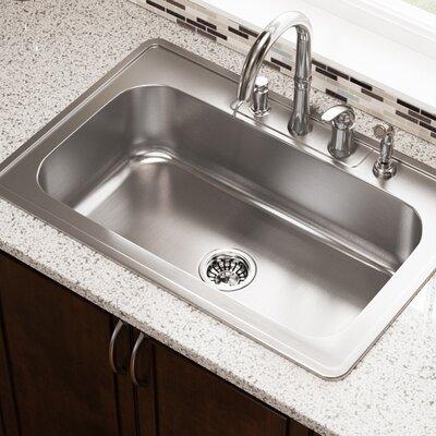32 x 22 Drop-In Kitchen Sink
