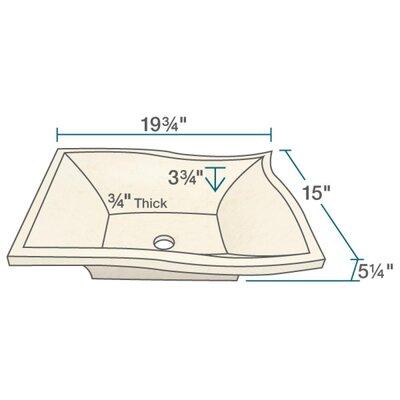 Egyptian Specialty Stone Specialty Vessel Bathroom Sink
