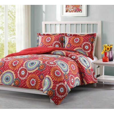 Archambeault 3 Piece Comforter Set Size: King
