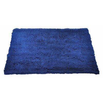My Doggy Place Door Mat Size: Medium (31 W x 20 D x 0.5 H), Color: Navy Blue