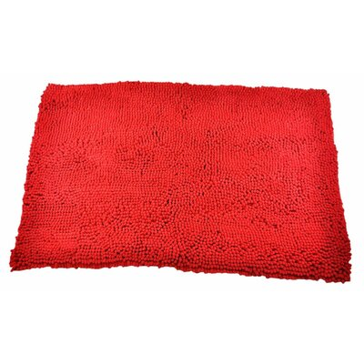 My Doggy Place Door Mat Size: X-Large (60 W x 36 D x 0.5 H), Color: Red