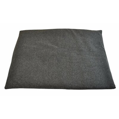 Comfort Crate Mat Size: Large (32 W x 20 D x 2 H), Color: Gray