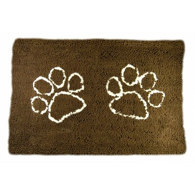 Rickey Microfiber Doormat Mat Size: 3 x 22, Color: Brown