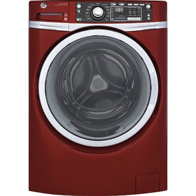 4.9 cu. ft. Energy Star� Front Load Washer with Steam Finish: Red GFW480SPKRR