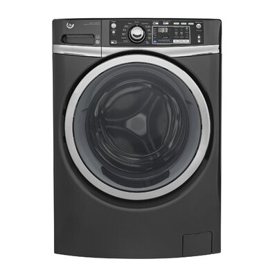 4.9 cu. ft. Energy Star� Front Load Washer with Steam Finish: Gray GFW480SPKDG