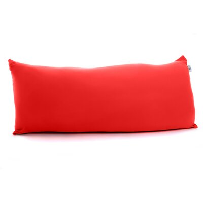 Maxi Giant Bean Bag Chair Upholstery: Red