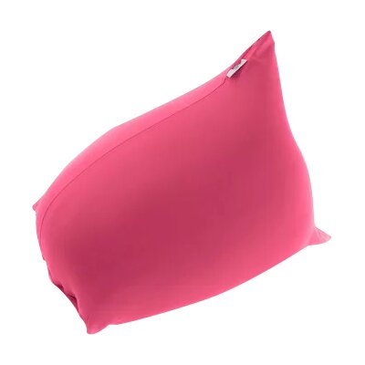 Pyramid Uniquely Bean Bag Chair Upholstery: Pink