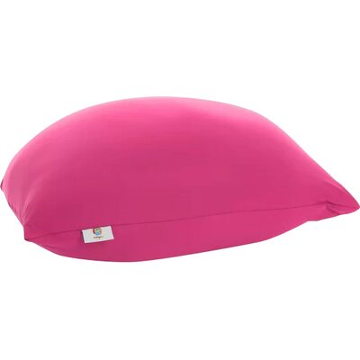Pouf Bean Bag Chair Upholstery: Pink