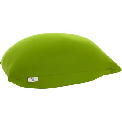 Pouf Bean Bag Chair Upholstery: Green