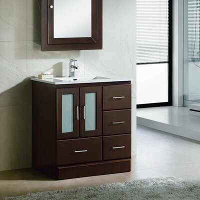 Rethman Modern 30 Single Bathroom Vanity Set
