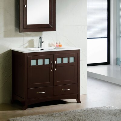 Rettig Modern 36 Single Bathroom Vanity Set