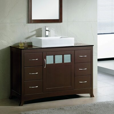Rettig 48 Single Bathroom Vanity Set