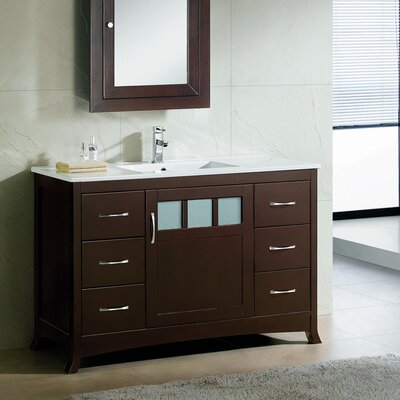 Rettig Contemporary 48 Single Bathroom Vanity Set