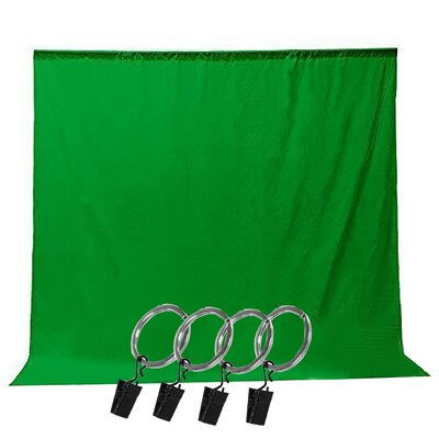 6 Piece Photo Video Photography Studio Muslin Backdrop Background Screen