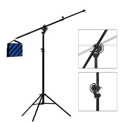 3 Piece Photo Video Studio Lighting Boom Arm Lense or Filter