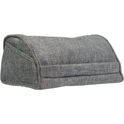 Executive Tablet Throw Pillow Color: Gray Linen