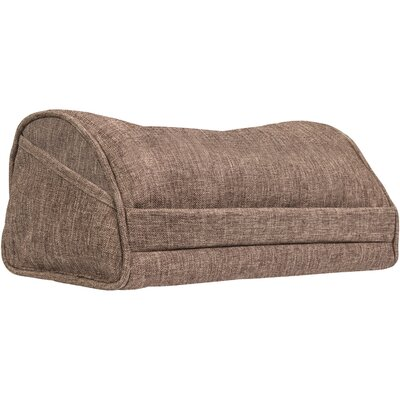 Executive Tablet Throw Pillow Color: Mocha Linen