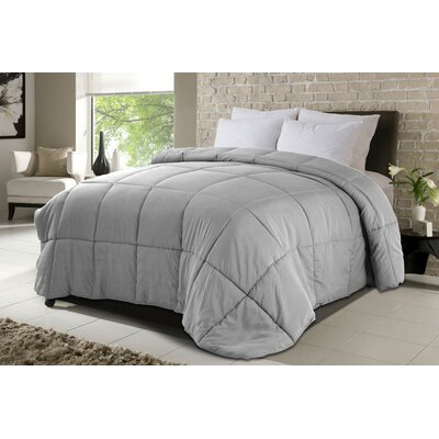 All Season Down Alternative Comforter Bed Size: Twin