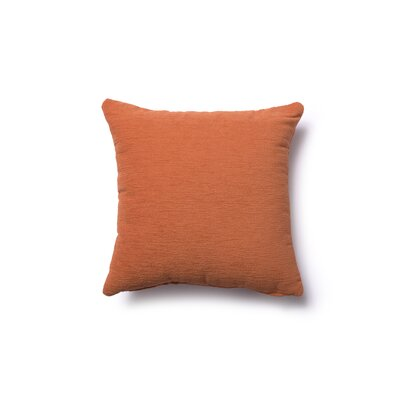 Danin Modern Outdoor Throw Pillow Color: Tangerine, Size: Large
