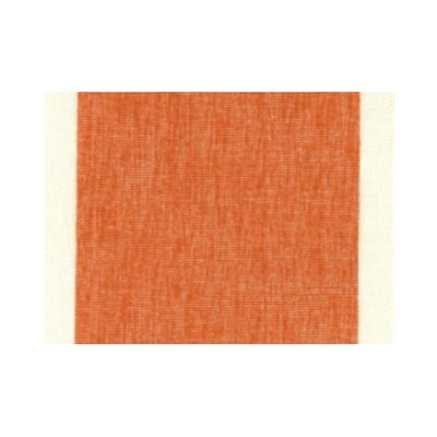 Izora Modern Outdoor Throw Pillow Color: Tangerine, Size: Large