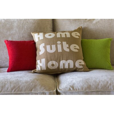 Jermal Home Suite Home Throw Pillow