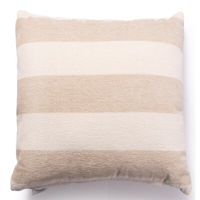 Izora Outdoor Throw Pillow Color: Sand, Size: Medium