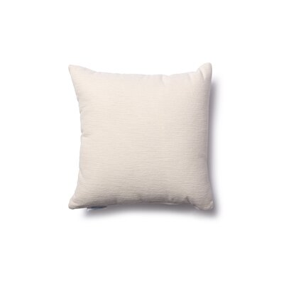 Danin Outdoor Throw Pillow Color: Snow, Size: Small
